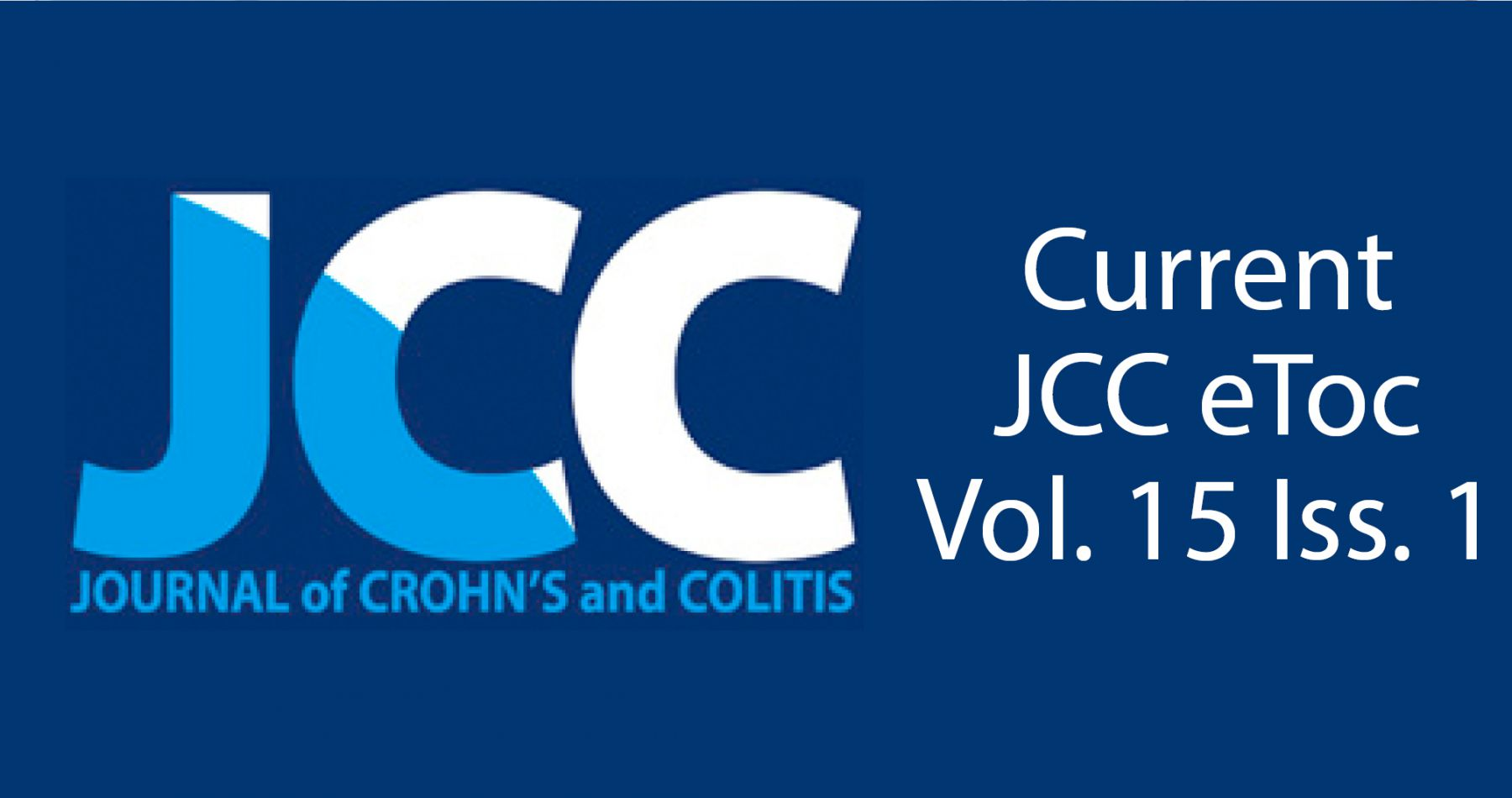 Current JCC eTOC Vol. 15 Iss.1